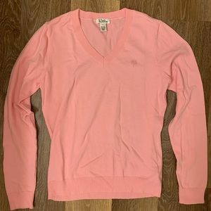 Vintage Lilly Pulitzer Sweater Pink Smal